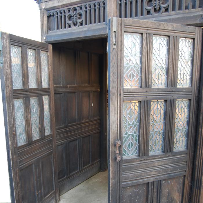 St Mary's Lambeth draught porch