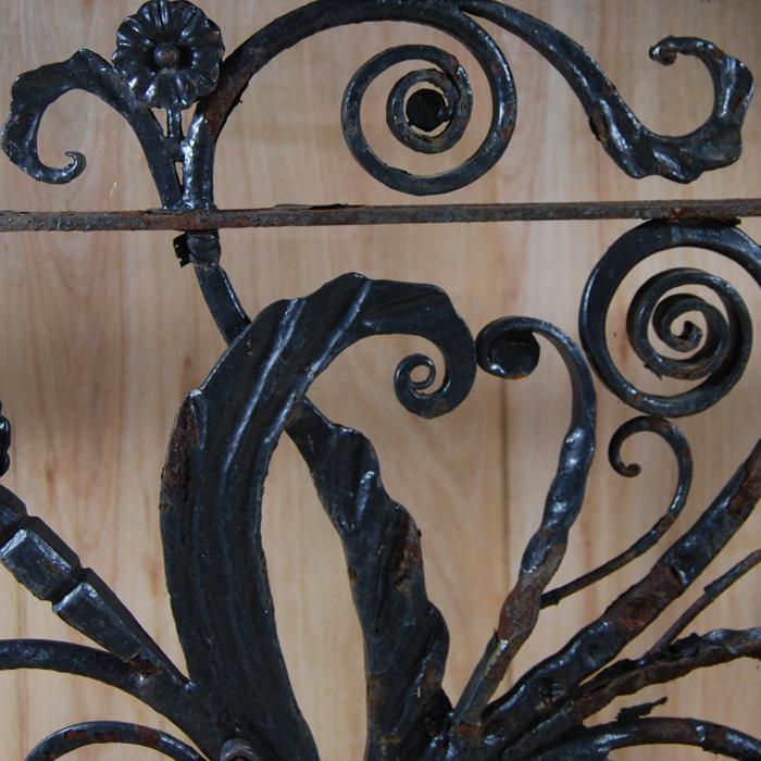 Scrollwork balcony panel