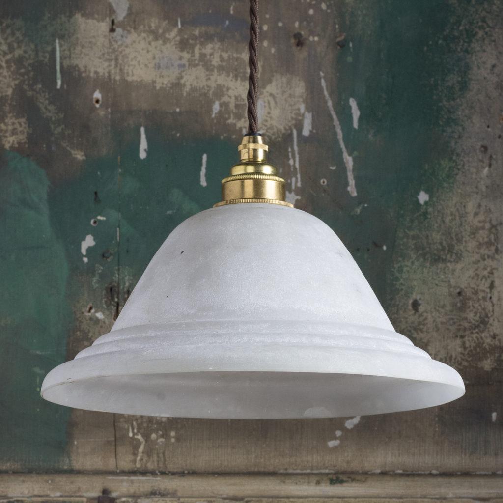 Moulded glass pendant lights,-112097