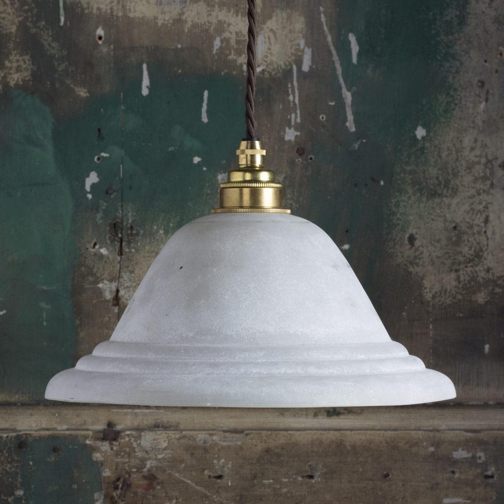 Moulded glass pendant lights,-0