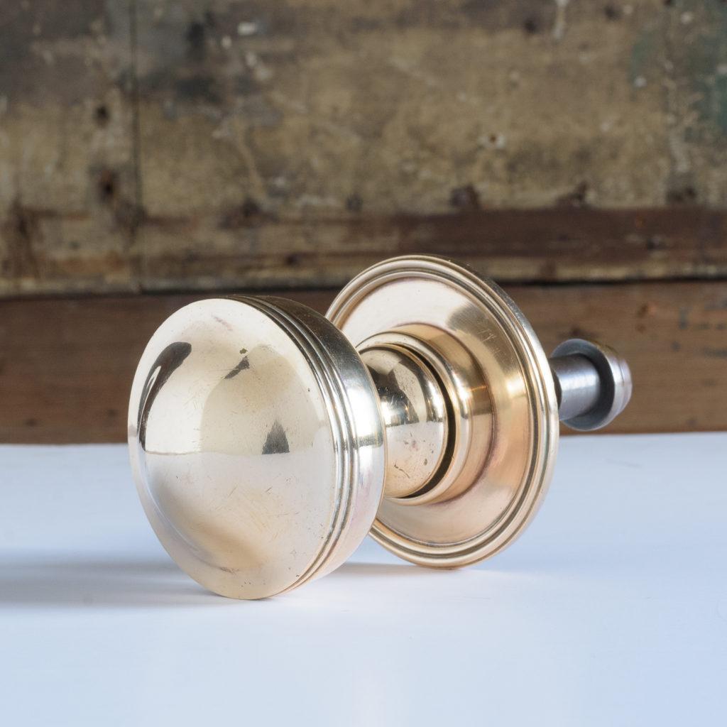 Brass door boss,-112076