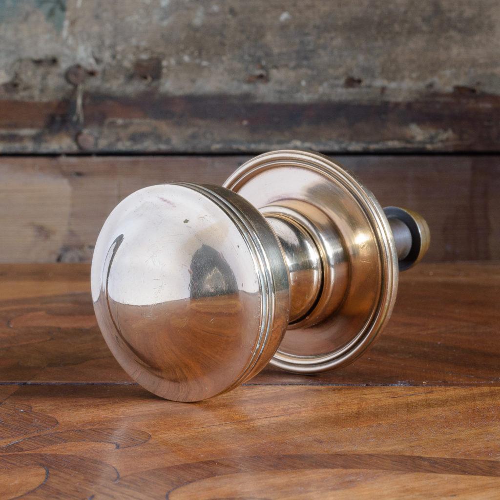 Brass door boss,-112075