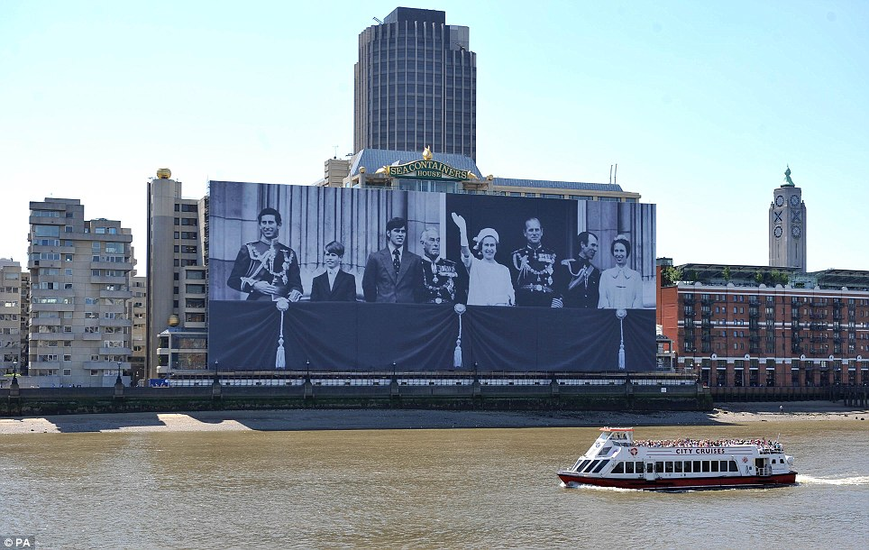 Sea Containers House during the Diamond Jubilee