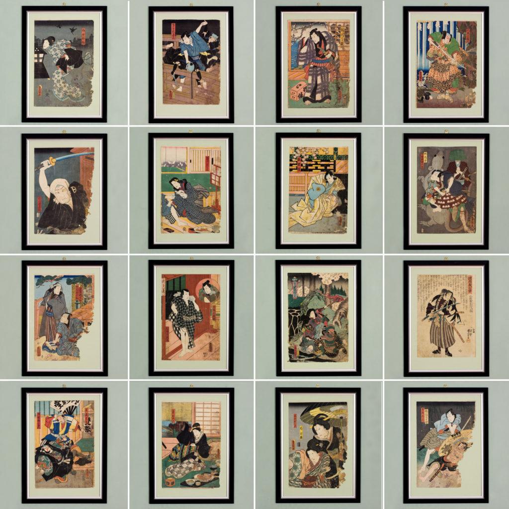Original 19th century Japanese Ukiyo-e print-111622