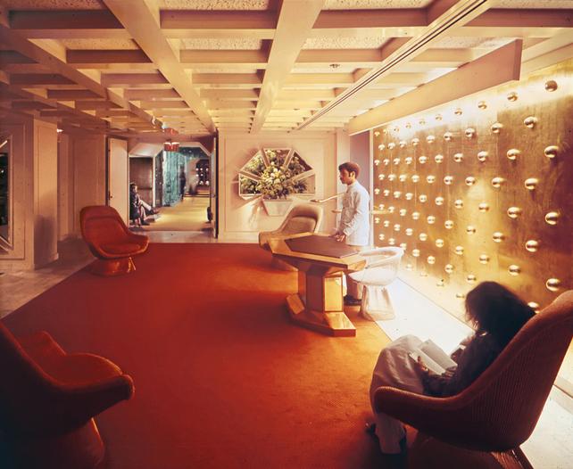 Warren Platner Designed Lobby