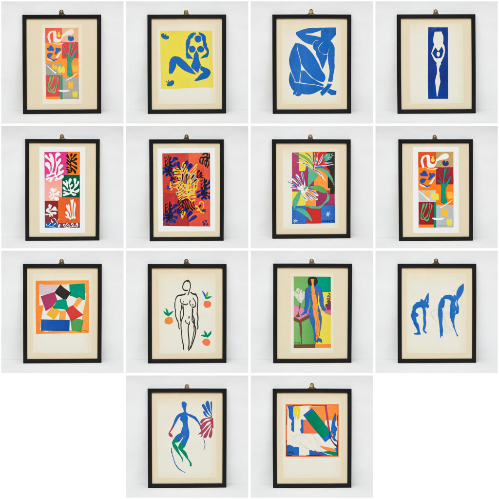 Matisse 'cut-out' Lithograph No. 8, -112859