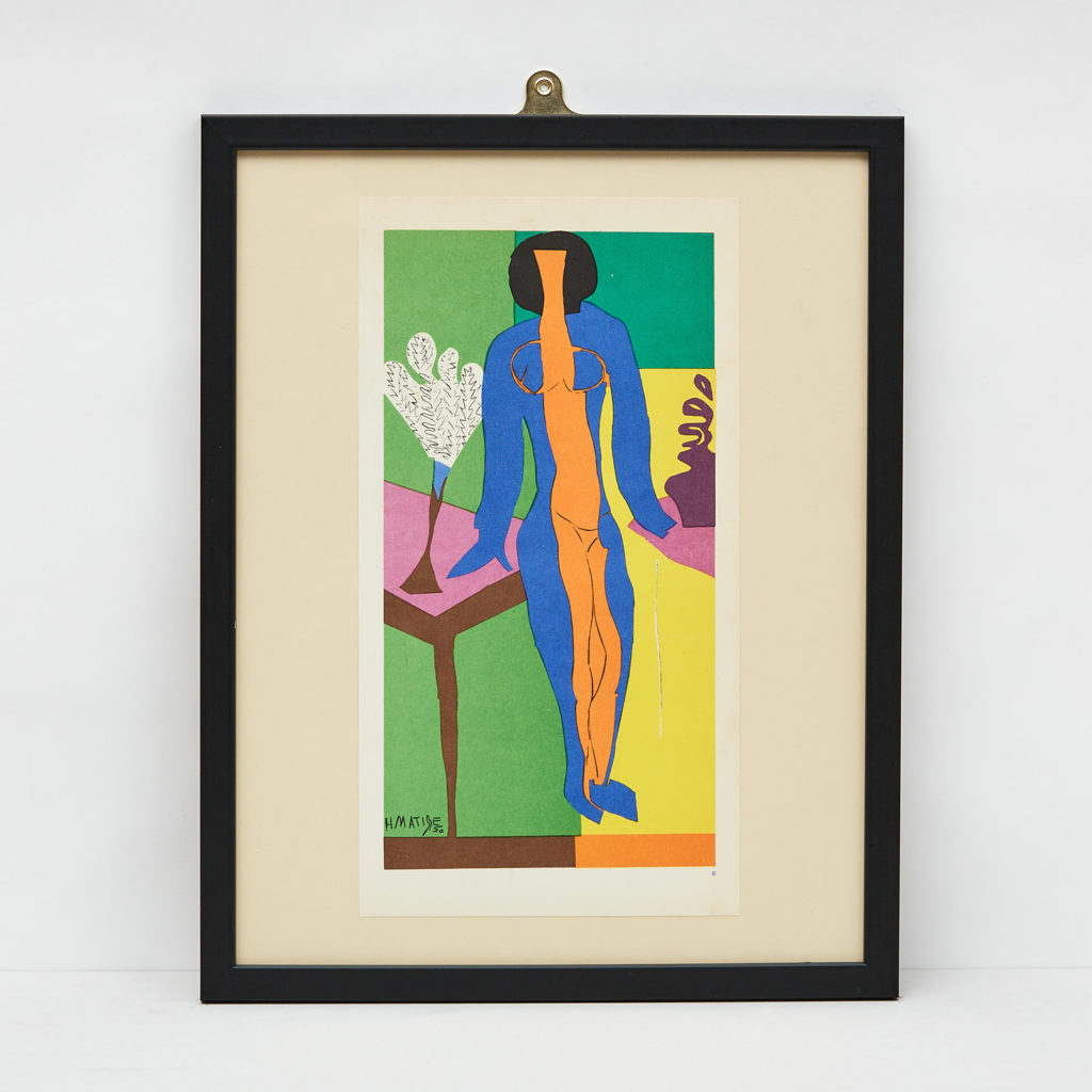 Matisse 'cut-out' Lithograph No. 6, -0