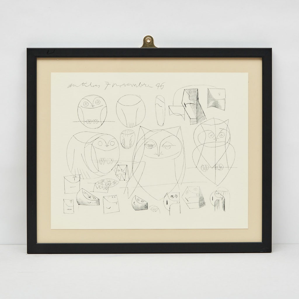 Picasso 'Mes dessins d'Antibes' Lithograph,-112877