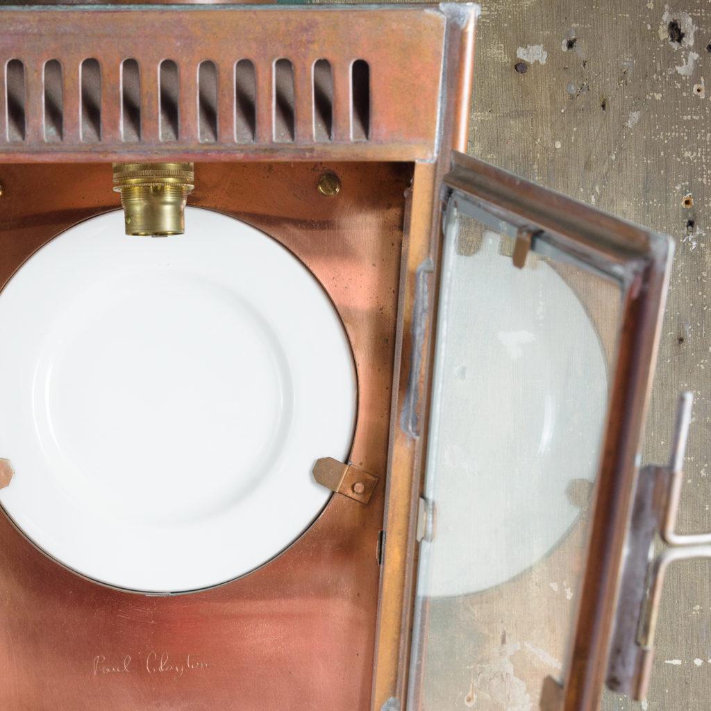 English copper stable lantern,-112801