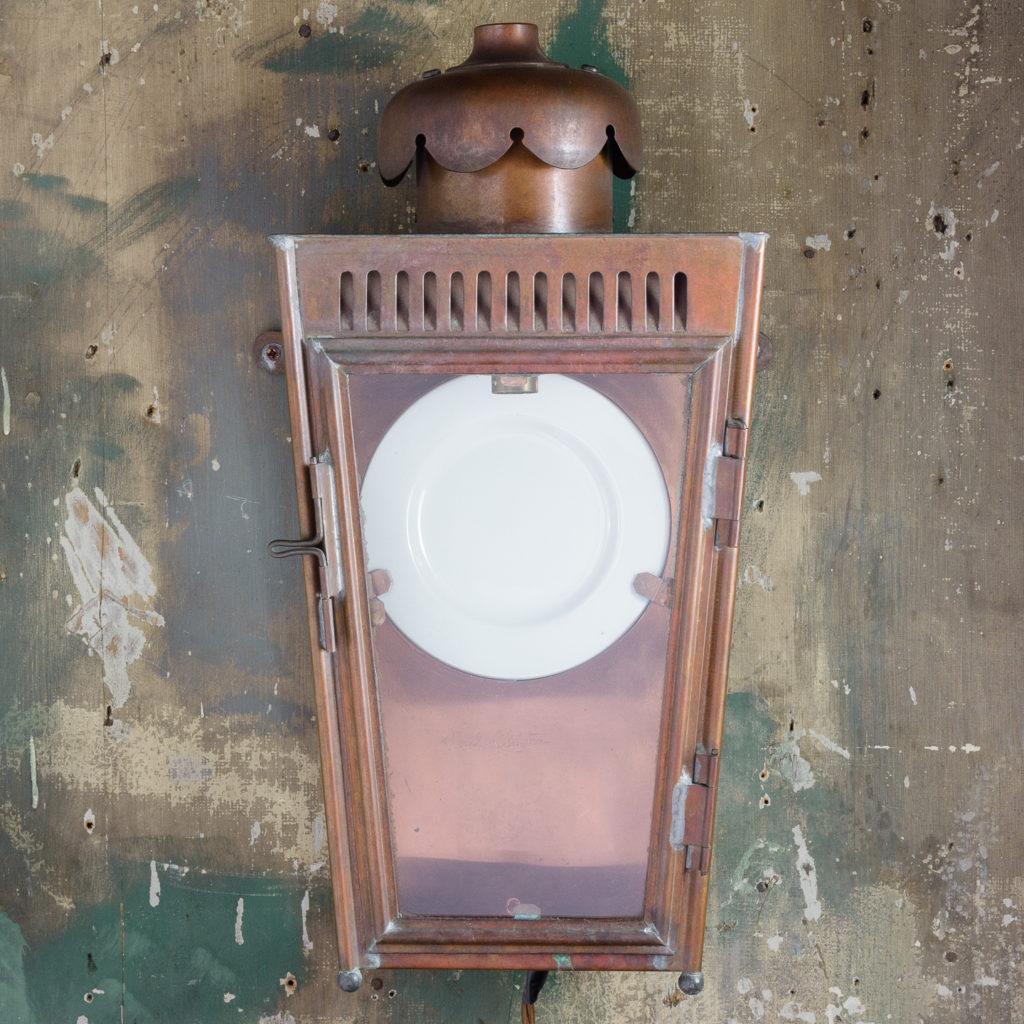 English copper stable lantern,-112797