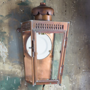 English copper stable lantern,-0