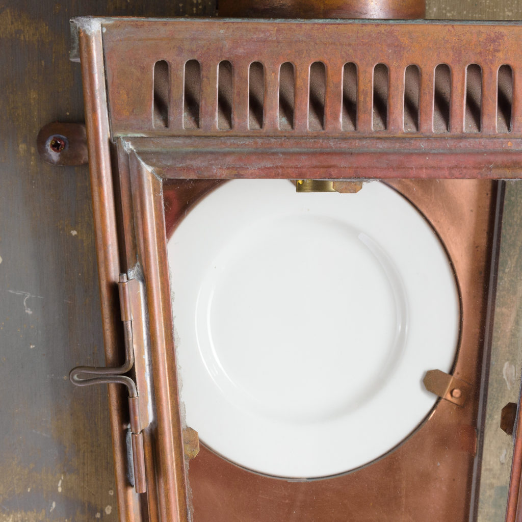 English copper stable lantern,-112800