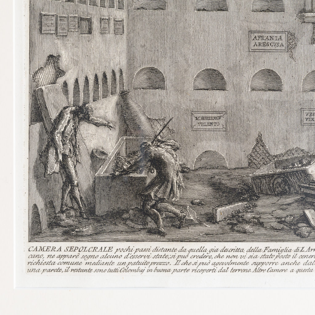 Roman antiquities, Giovanni Battista Piranesi published c1807-112795