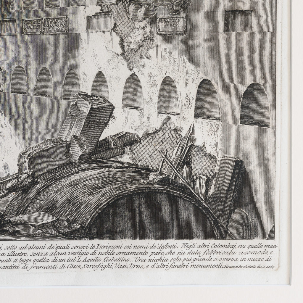 Roman antiquities, Giovanni Battista Piranesi published c1807-112794