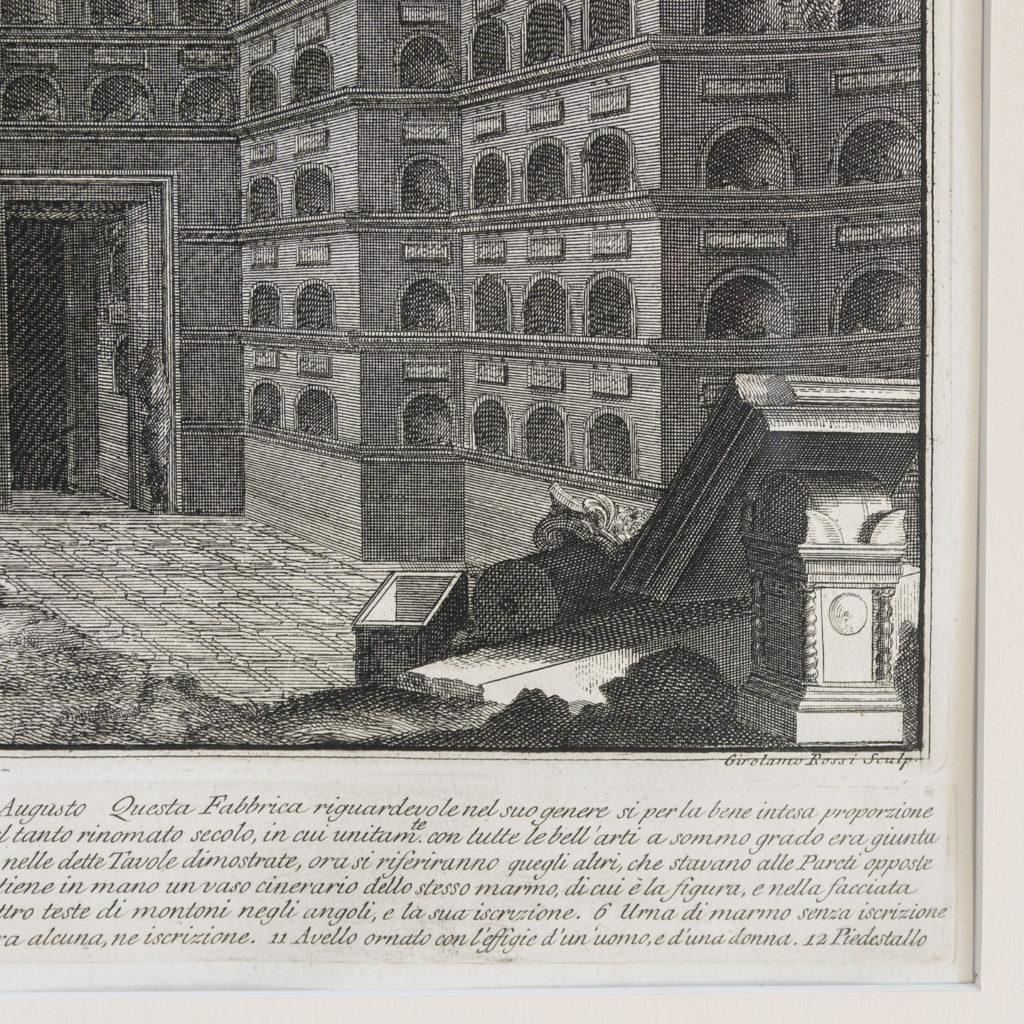 Roman antiquities, Giovanni Battista Piranesi published c1807-112782