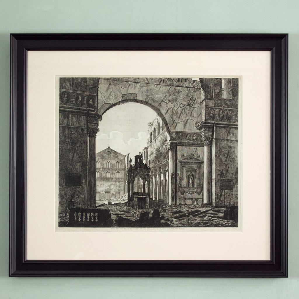 Views of Rome by Luigi Rossini -0