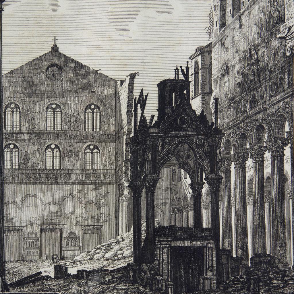Views of Rome by Luigi Rossini -112685