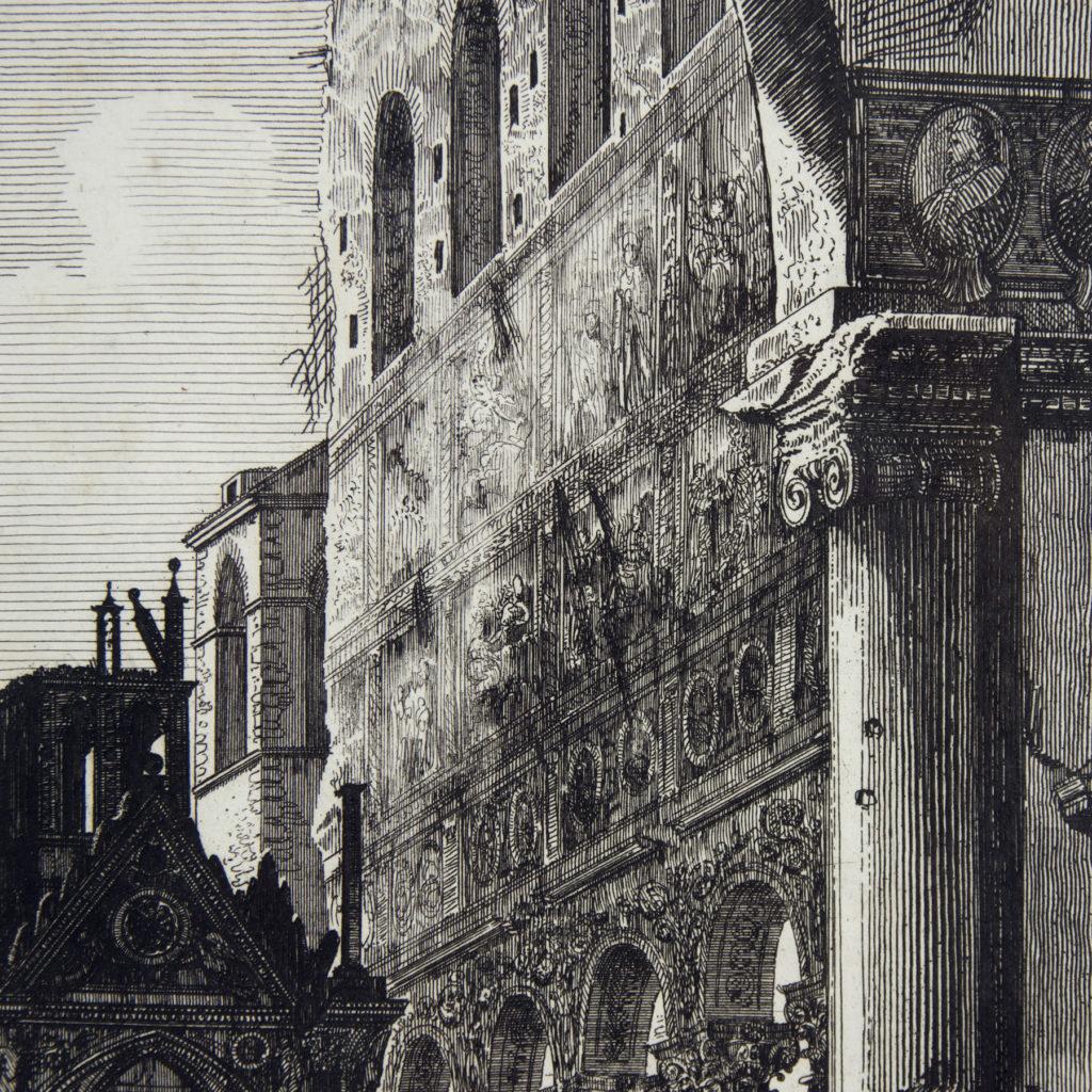 Views of Rome by Luigi Rossini -112686