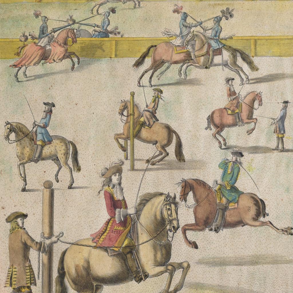 The Manag'd Horse,-112749