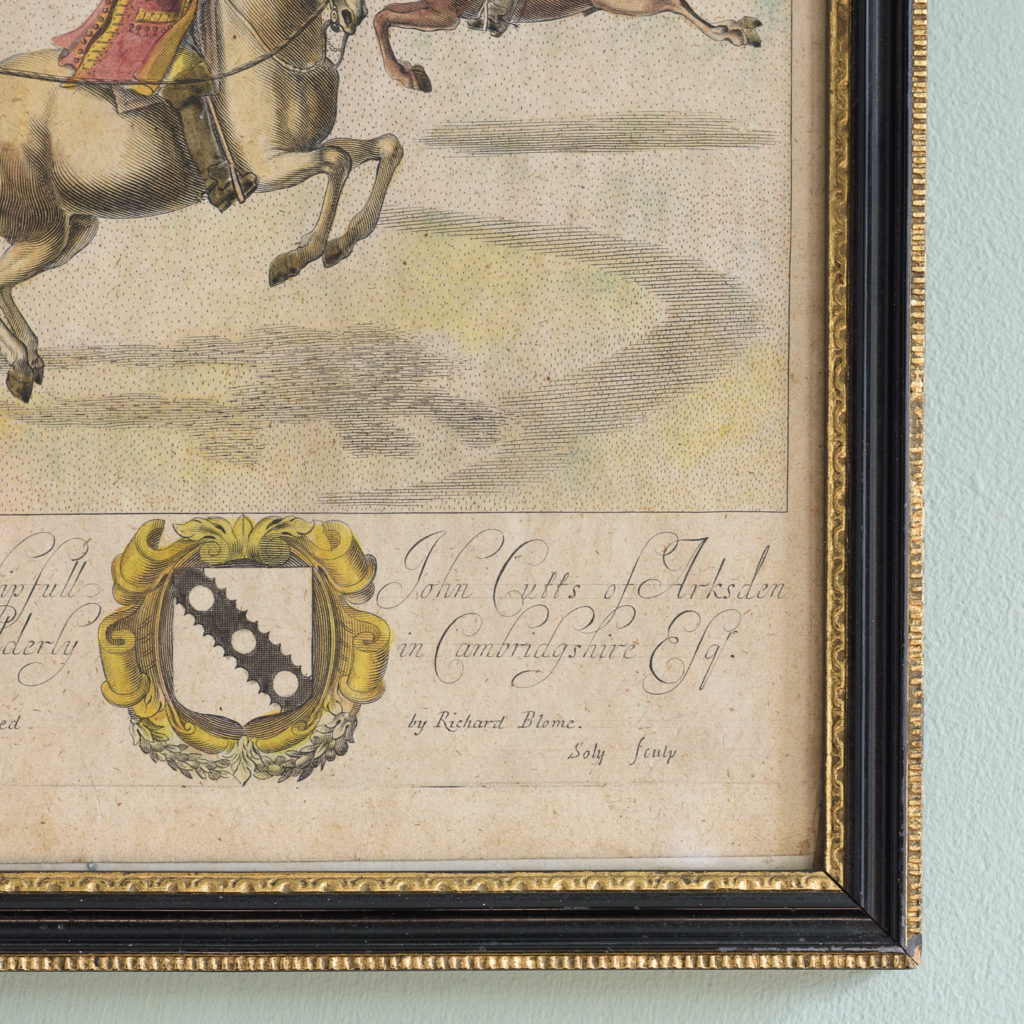 The Manag'd Horse,-112747