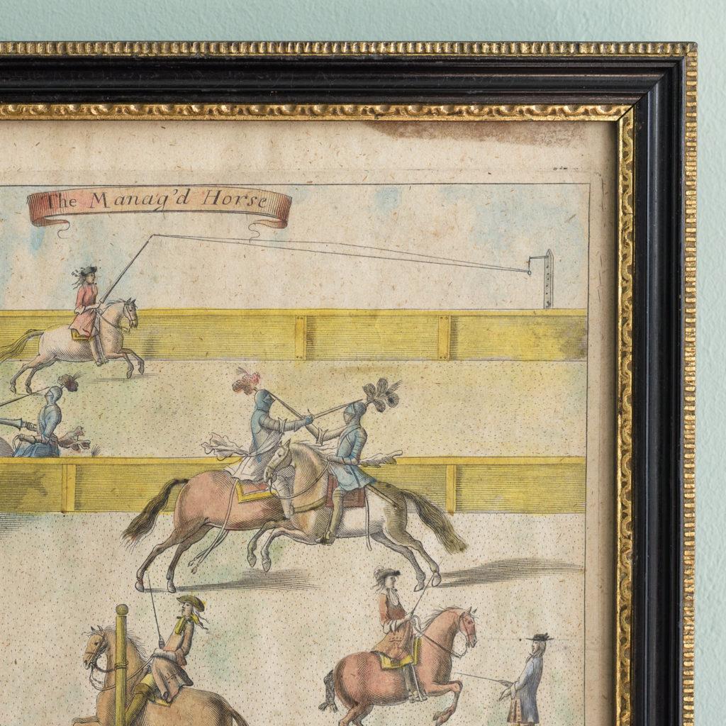 The Manag'd Horse,-112750