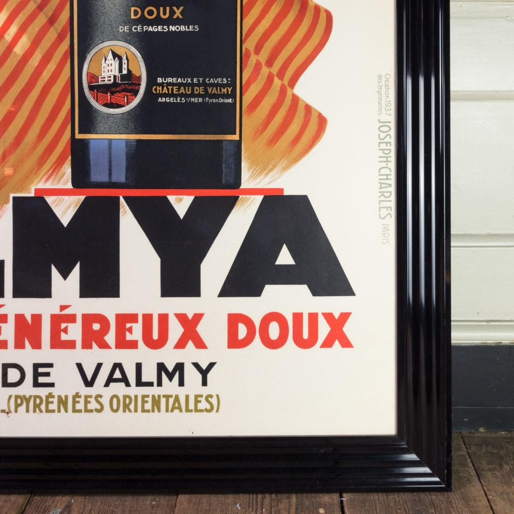 Original 1937 advertising poster, Valmya Grand Vin Genereux Doux-112558
