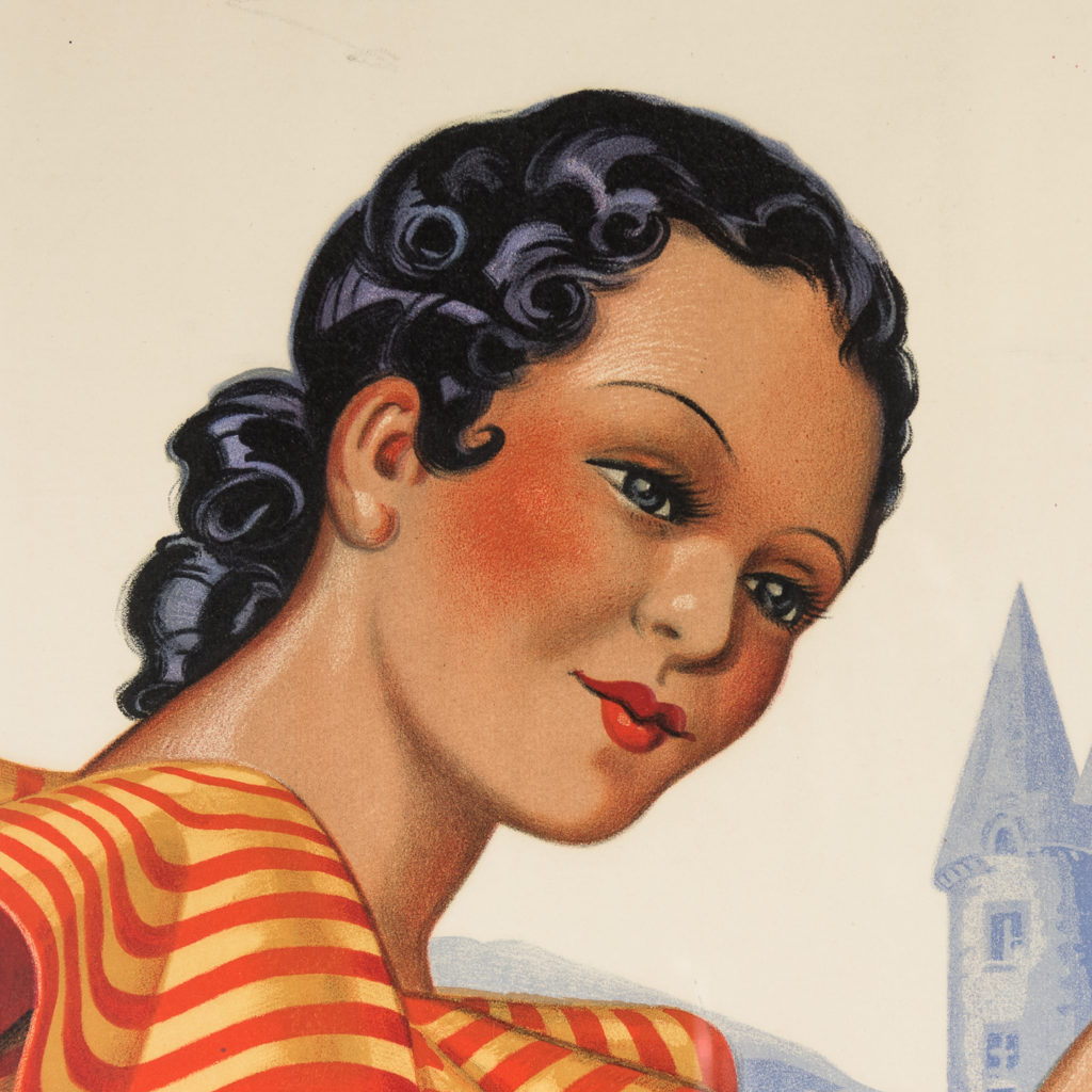 Original 1937 advertising poster, Valmya Grand Vin Genereux Doux-112556