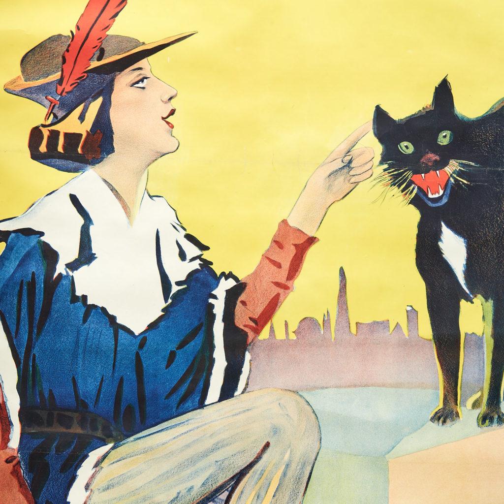 Dick Whittington pantomime poster,-113176