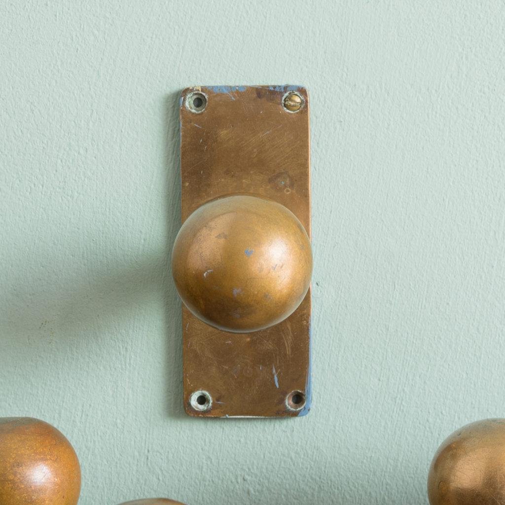 1920s brass door knobs,-113199