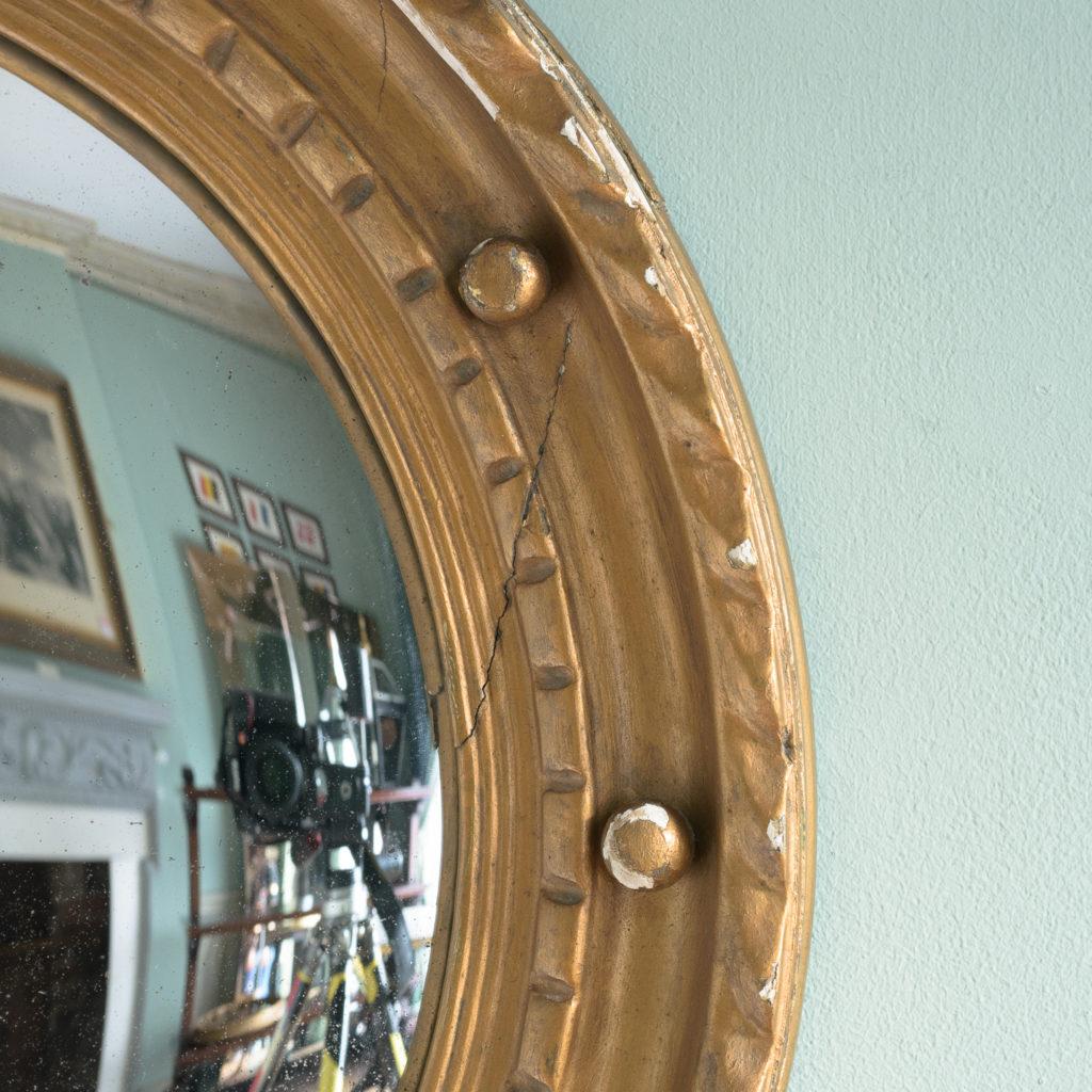 Regency style convex mirror,-113709