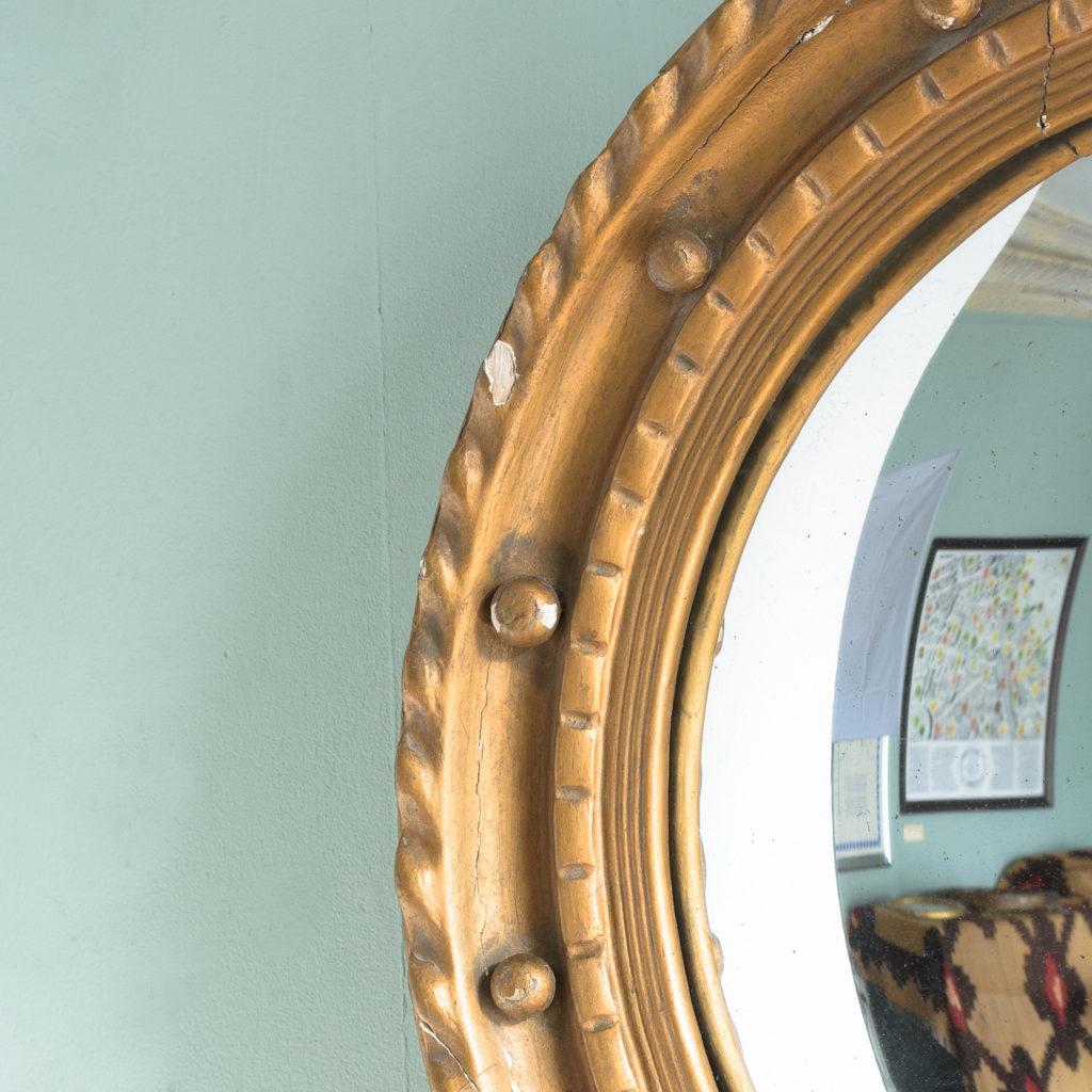 Regency style convex mirror,-113712