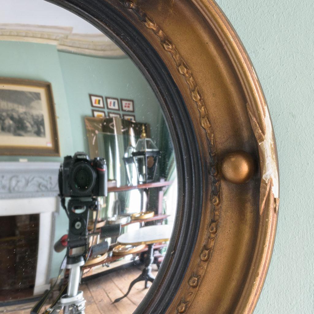 Regency style convex mirror,-113659