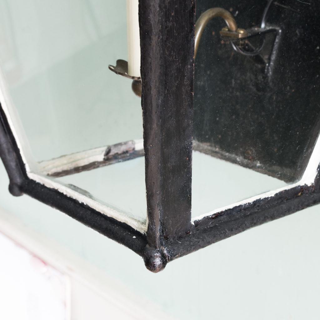 Nineteenth century French wall mounted lantern, -113989