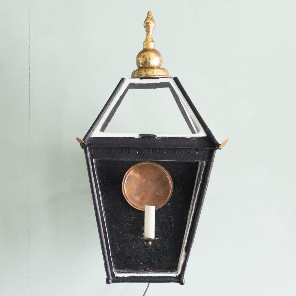 Nineteenth century French wall mounted lantern, -113991