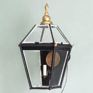 Nineteenth century French wall mounted lantern, -0