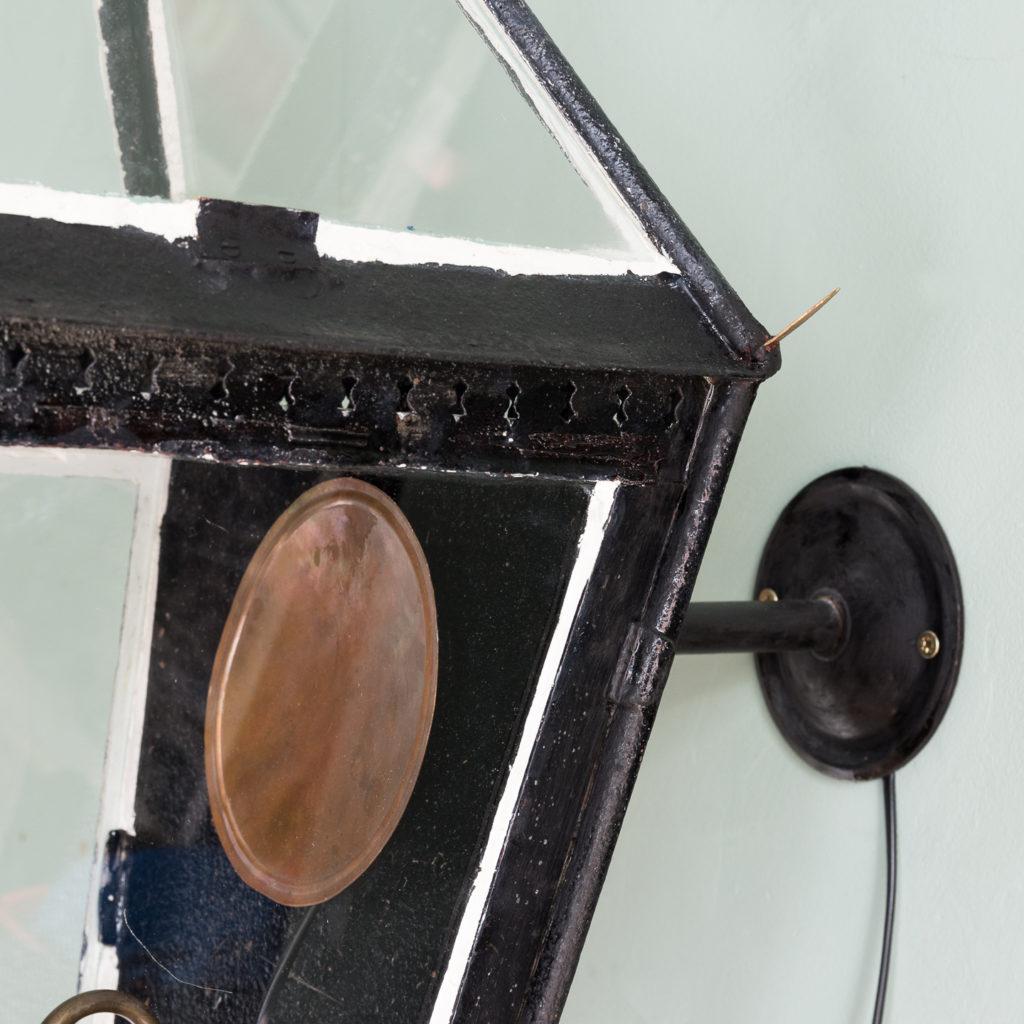 Nineteenth century French wall mounted lantern, -113988