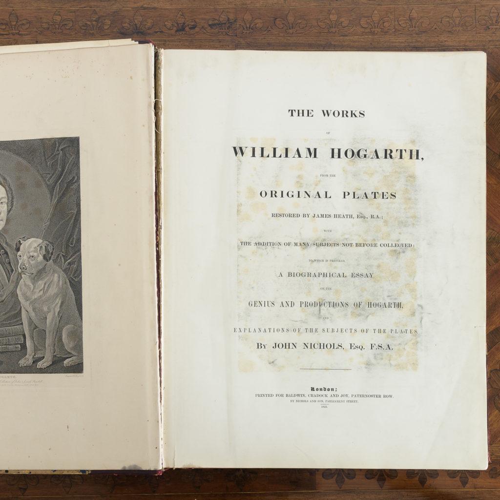 Works of Hogarth, complete folio 1822-114065