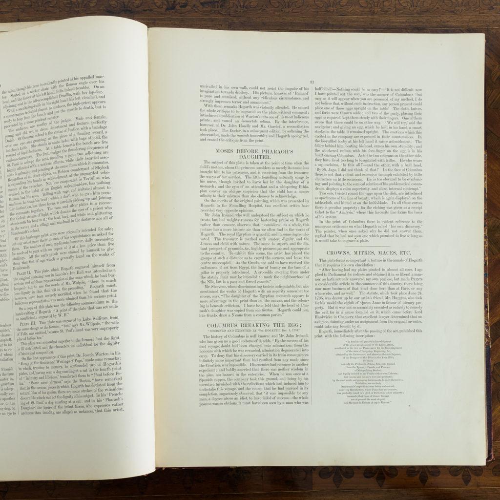 Works of Hogarth, complete folio 1822-114057