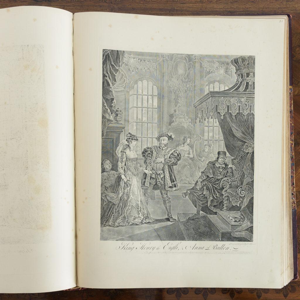 Works of Hogarth, complete folio 1822-114059