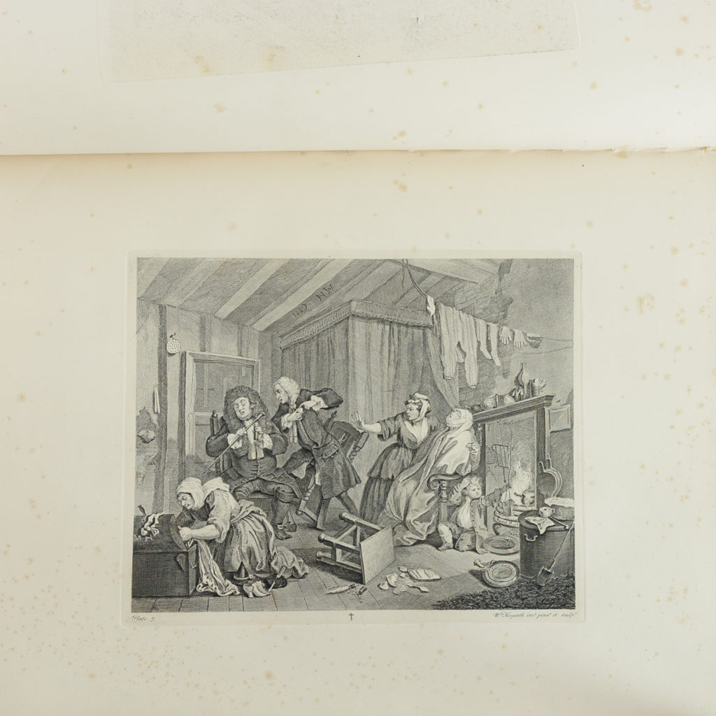 Works of Hogarth, complete folio 1822-114067