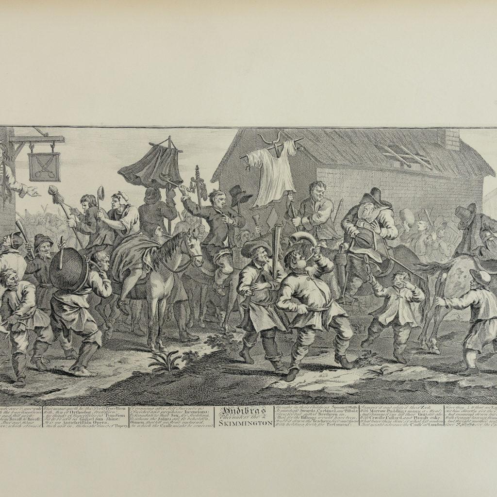 Works of Hogarth, complete folio 1822-114051
