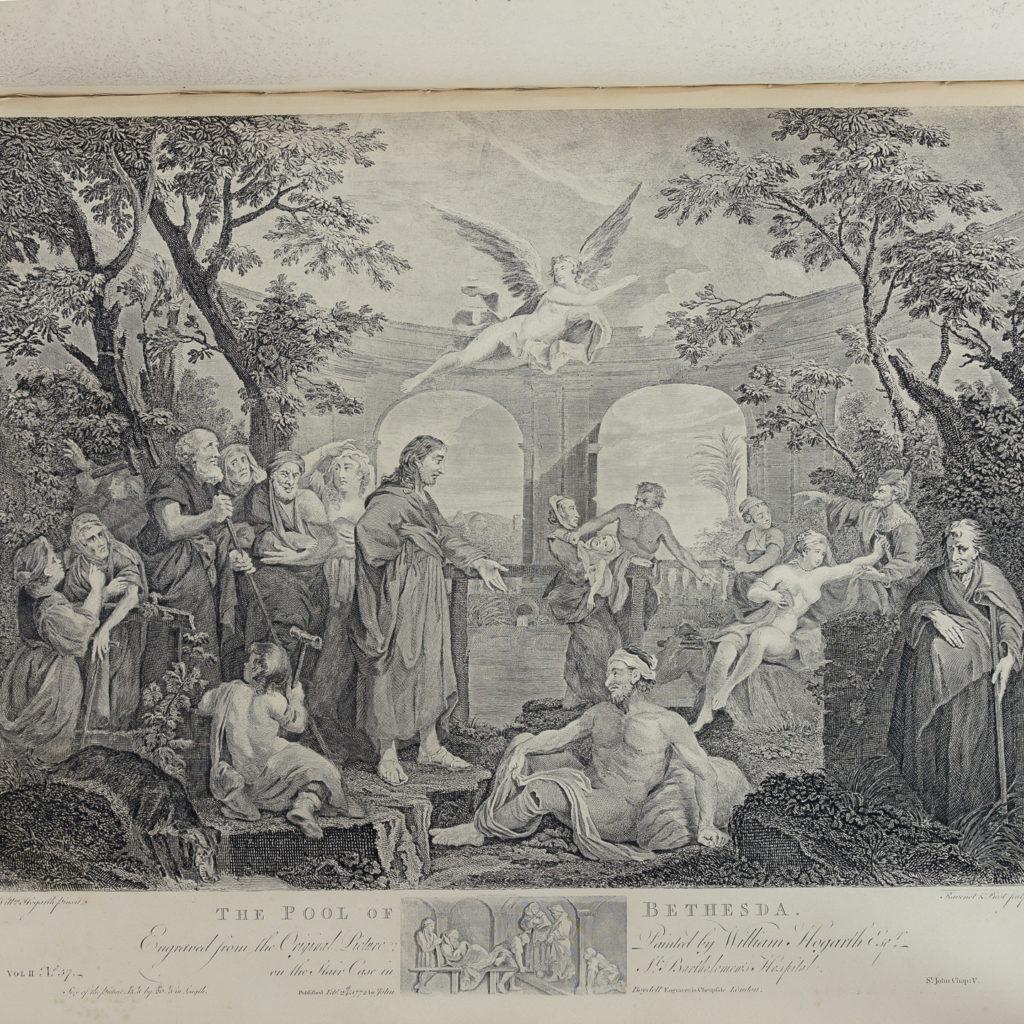 Works of Hogarth, complete folio 1822-114049