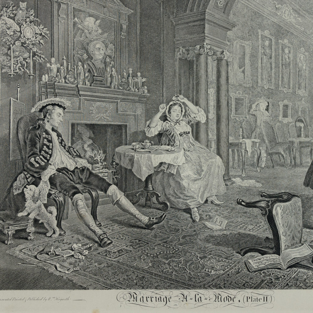 Works of Hogarth, complete folio 1822-114060