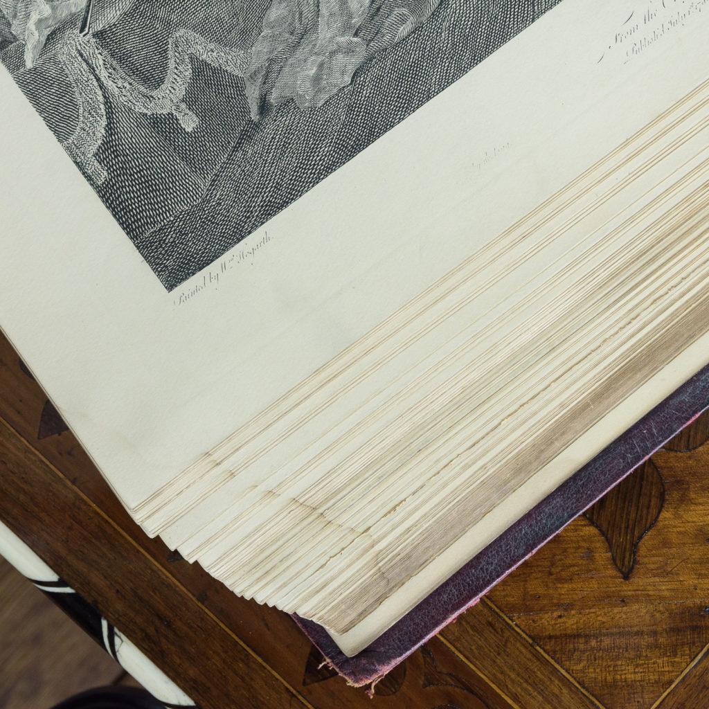 Works of Hogarth, complete folio 1822-114058