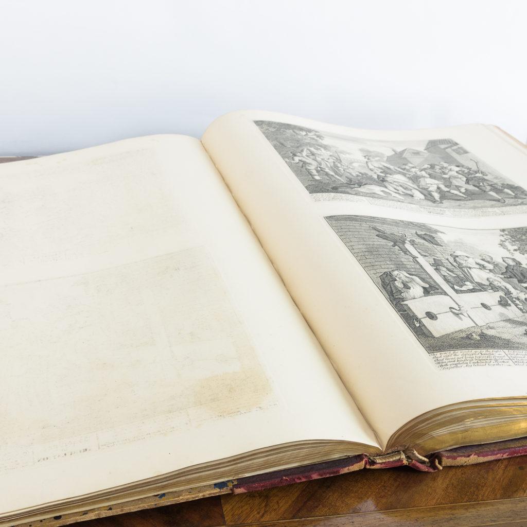 Works of Hogarth, complete folio 1822-114070
