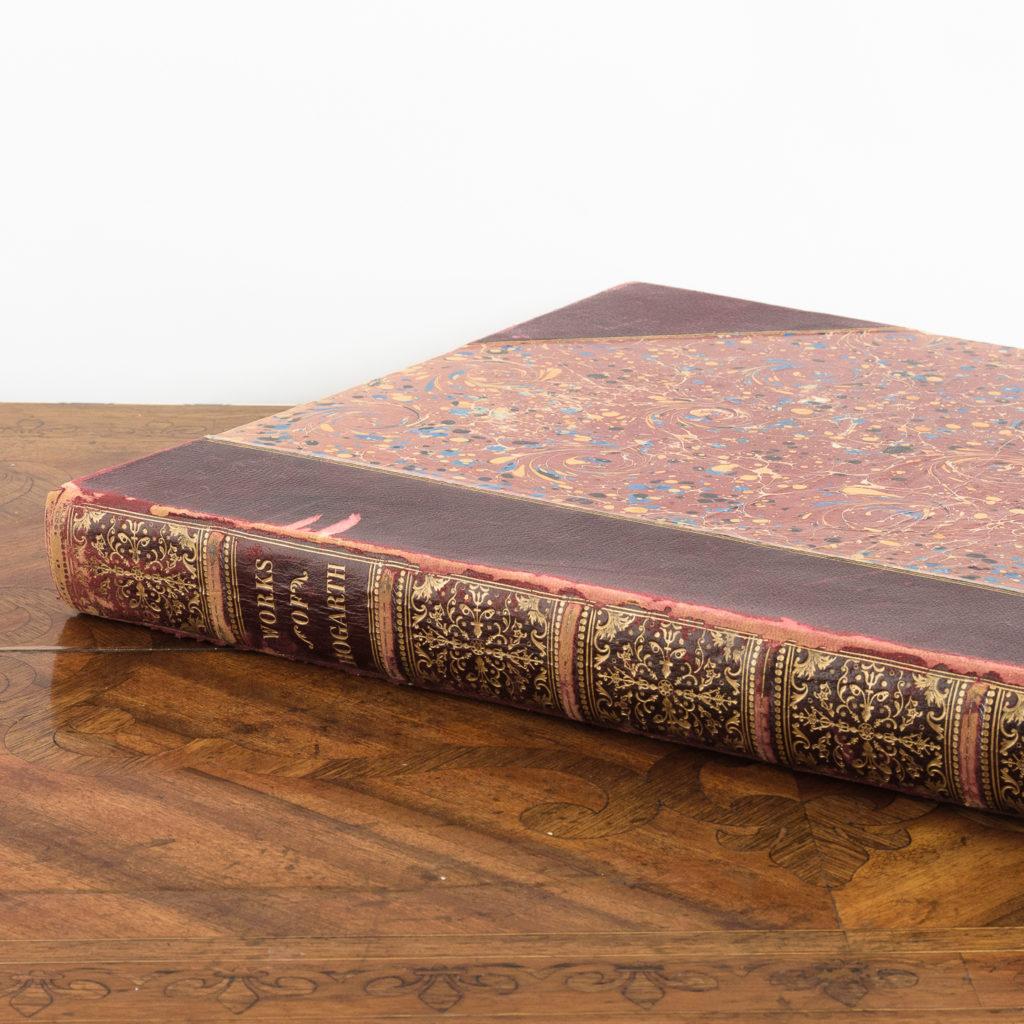 Works of Hogarth, complete folio 1822-114055