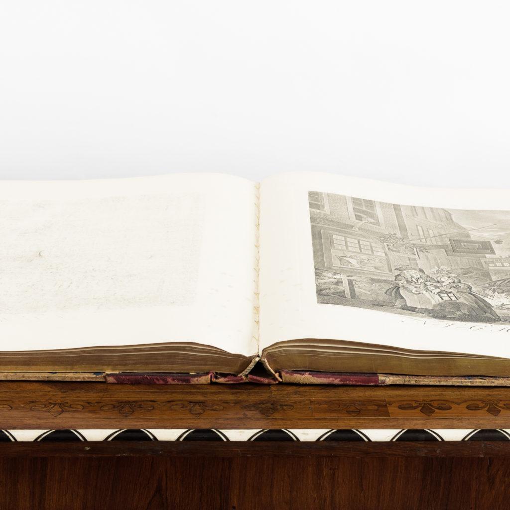 Works of Hogarth, complete folio 1822-114064