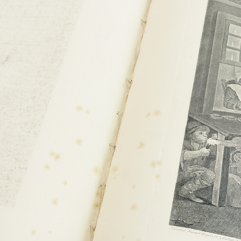 Works of Hogarth, complete folio 1822-114069