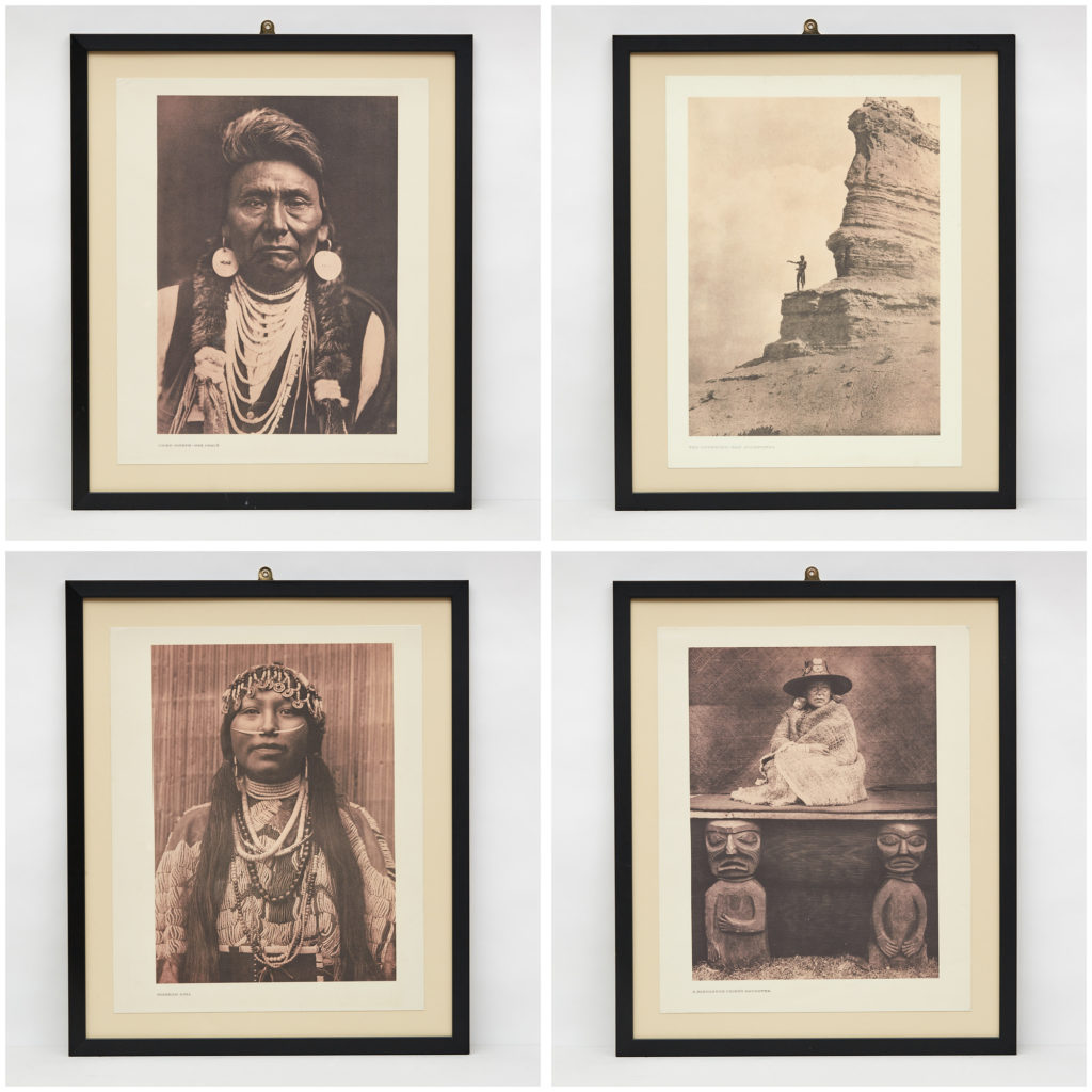 'The North American Indian' photographed by Edward Sheriff Curtis,-114402