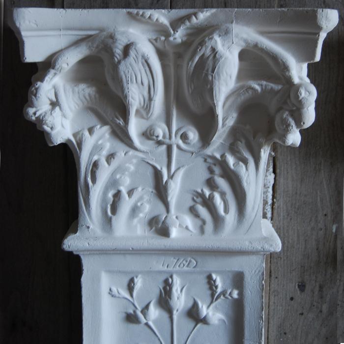 plaster pilaster capital